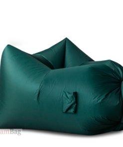 Надувное кресло AirPuf Зеленый